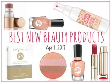 Beauty blogger Kimberly Nissen of The Plastic Diaries shares best new beauty April 2017.