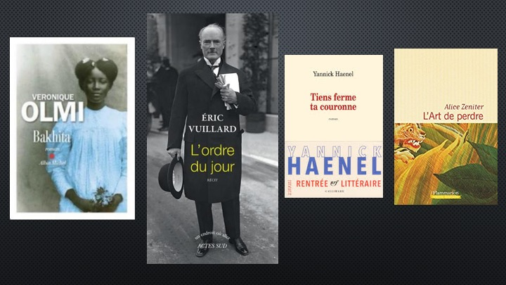 4 finalistes goncourt 2017