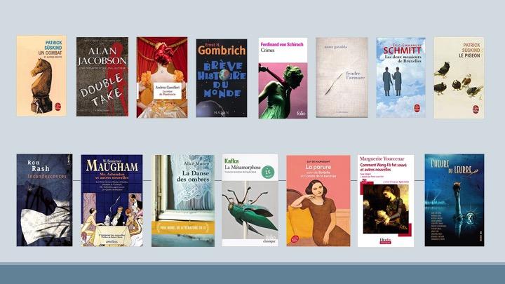 images livres thématique les nouvelles