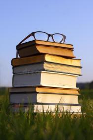 glasses-stack-books-outside-pair-thick-black-women-s-eyeglasses-sit-top-thick-old-bibles-hymnals-32318742